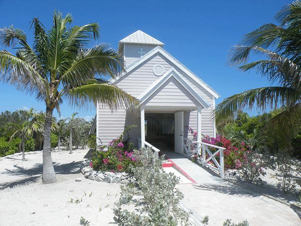 Church on the beach