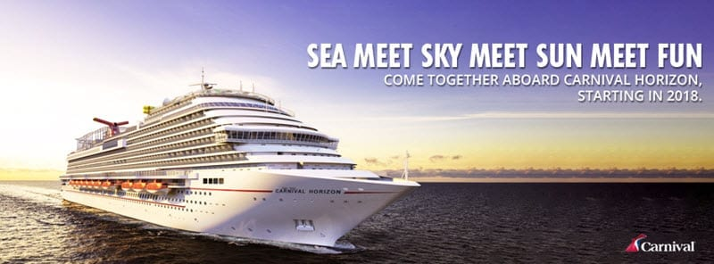 Carnival Cruise Line Sea Meet Sky Tmb Let S Travel