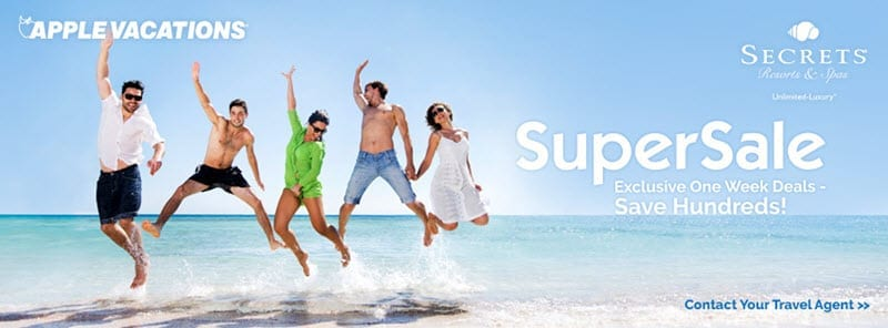 SuperSale Apple Vacations