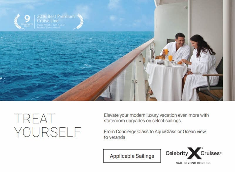Celebrity Cruise Line - Wave offer January 2018-01