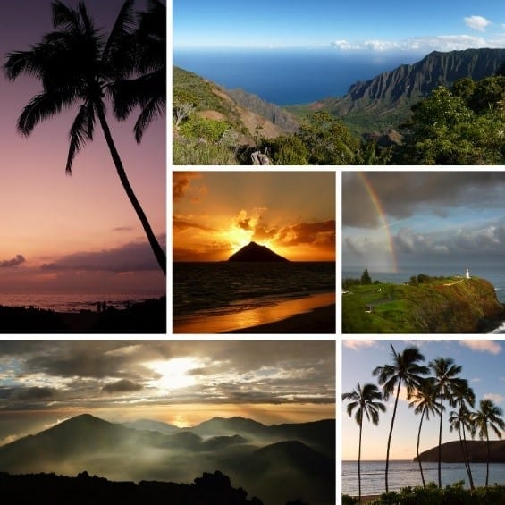 Destination Hawaii - pictures of the Hawaiian islands