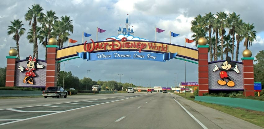 Time saving Disney tips - Disney Entrance - Where dreams come true