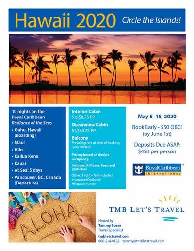 TMB Lets Travel - Circle the Hawaiian Islands 2020