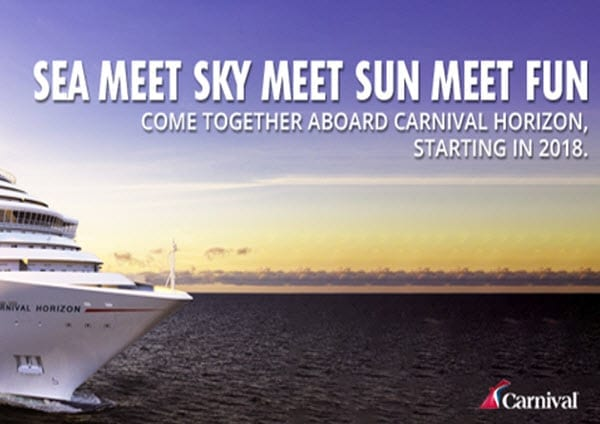 carnival cruise lines sea meet sky meet sun meet fun - featured image